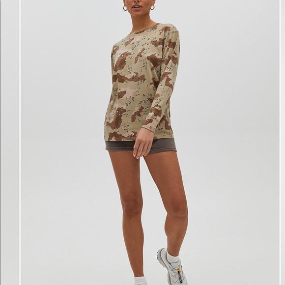 TNA camouflage long sleeve BNWOT